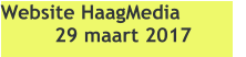 Website HaagMedia 29 maart 2017